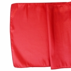 CLEARANCE Taffeta Table Runner Cinnabar Red
