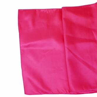 CLEARANCE Taffeta Table Runner Fuchsia Pink