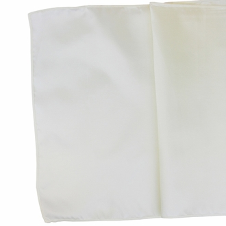 Taffeta Table Runner Ivory