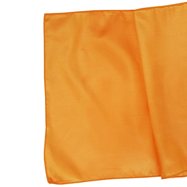 CLEARANCE Taffeta Table Runner Mango Orange