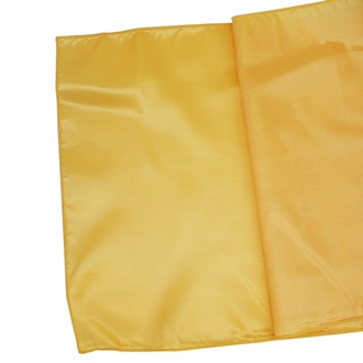 Taffeta Table Runner Sunflower Yellow
