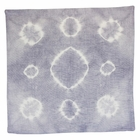 CLEARANCE Throw Pillow Cover Lilac Grey Haloes Shibori
