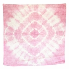 CLEARANCE Throw Pillow Cover Rose Quartz Radiate Shibori