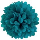 Tissue Pom 10in Teal