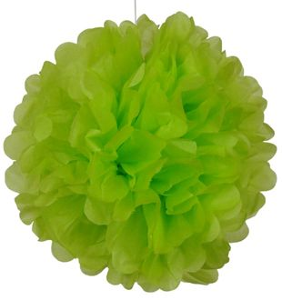 Tissue Pom 30in Chartreuse