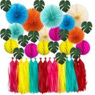 Tropical Palm Hanging Decorating Kit 42pcs