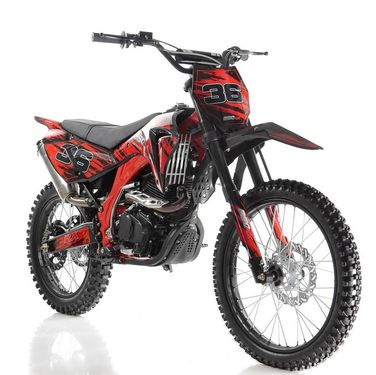 """Apollo / Orion 250cc 5 -Speed Deluxe Full Size Dirt Bike. 1 UNIT ASSEMBLED ONLY  <font color=""""red""""><font class=""""size4"""">Calif Legal Model</font></font></b>"""