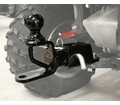Atv TeK - Atv Accessories - Trio Receiver Hitch with 2 inchs Ball - Lowest Price Guaranteed!