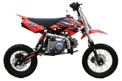 Coolster QG214S Deluxe 125cc Pit/Dirt Bike - Low Seat Height - Semi-Automatic Transmission - Calif Legal