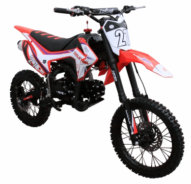 IN STOCK COOLSTER XM-125  Deluxe - 125cc Dirt Bike 4-Speed-Manual Transmission - 17 inch front tire