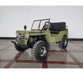Jeep Willys Series 1 The Origianal  Model Off-Road 125cc Go-Kart - New Style Front Grill