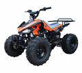 "Jet Moto Fully Automatic 125CC Sport  ATV-J024 Deluxe Sport Youth ATV-  Upgraded Suspension - Over Size 19"" Tires"
