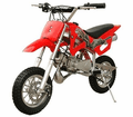 Sold Out Jet Moto 50 Ultra Mini Dirt Bike, 2-Stroke - Full suspension! Automatic, FAST SHIPPING