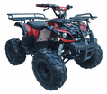 Kymoto Ultra Rancher 125cc  Quad Semi Automatic Over Size Tires MID SIZE