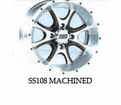 "SS108 Wheel Kits for 12"" ITP MUD LITE"