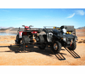 Star 3 Atv - Cargo - Utilitytrailer With Loading Gate Kit - Holds Up To 3 Quads