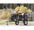 Star Loadstar I XL Utility ATV Trailer - Rear Ramp Loader - 8' Deck - 5ft. x 8ft. - Fast Shipping