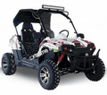 Trailmaster 300 EX Fuel Injected.  LED light bar, Wind Shield, Upgraded Polished Rims. Shade Top