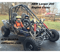 Yamobuggy RLGK-200R Go Kart / Dune Buggy - FAST SHIPPING! Call us at 800-657-1208