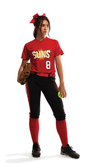 13f013e39 Ladies/Girls Racing Stripe Softball Pant