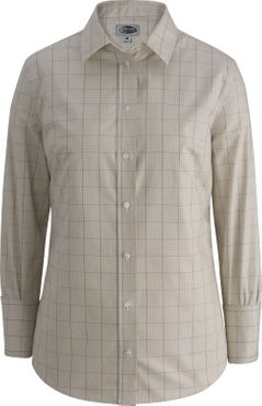 Ladies Hotel Extreme No-Iron Houndstooth Windowpane Shirts (Currently Unavailable)
