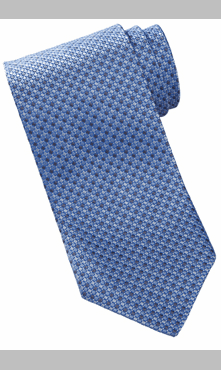 Wait Staff Mini-Diamond Silk Tie