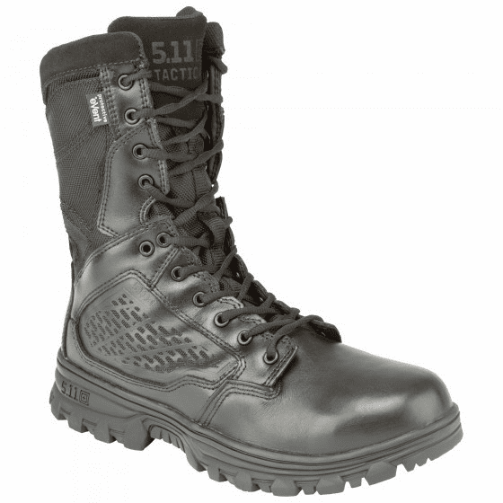 "5.11 EVO 8"" WATERPROOF BOOT WITH SIZEZIP"