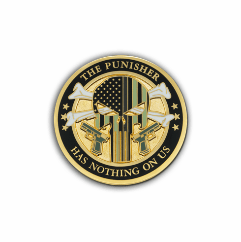 CDC The Punisher Challenge Coin
