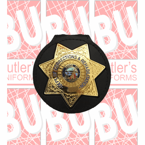 CDCR Badge Holder