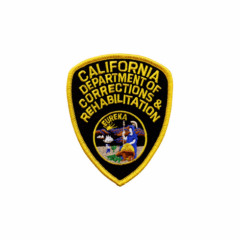 CDCR Shoulder Patch