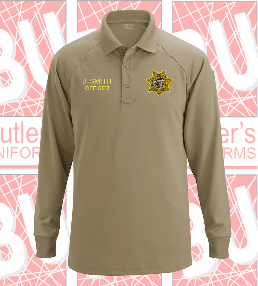 CDCR - Tactical Long Sleeves Polo