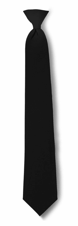 Clip-on Tie Black