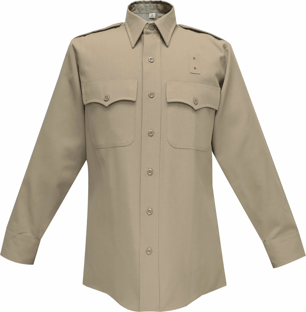 Silver Tan Long Sleeves Shirt - Summer Weight