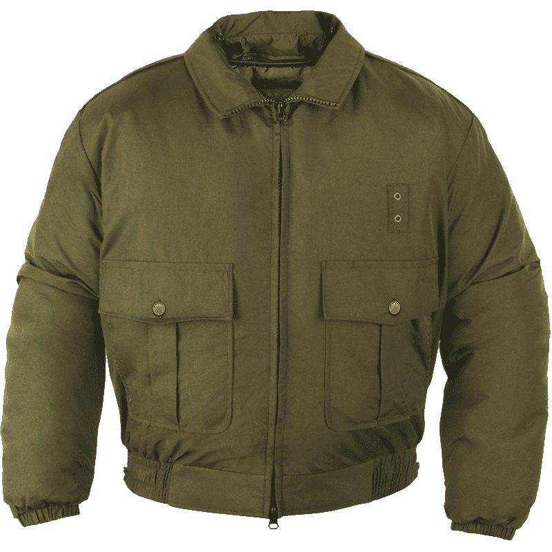 GREEN BATTLE JACKET