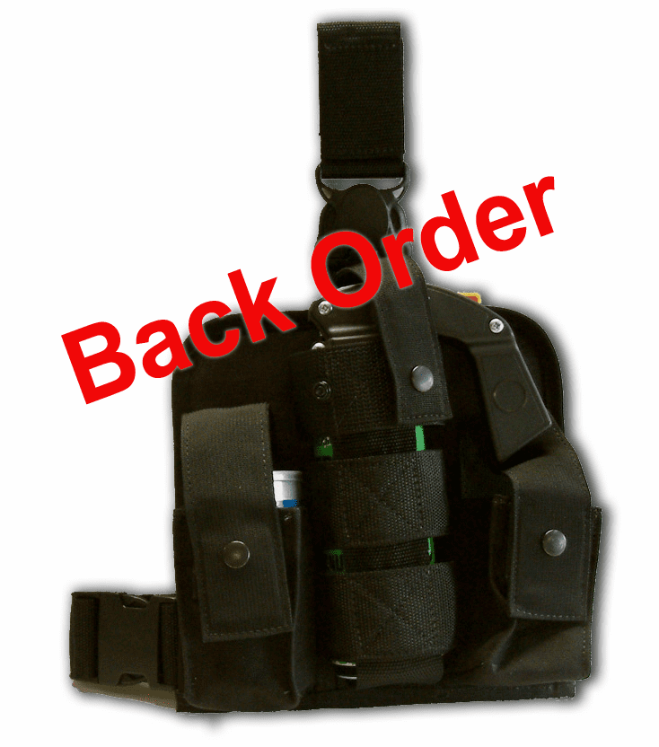 HPS-7412 - MK9+ with Two Grenade Pouches Holder