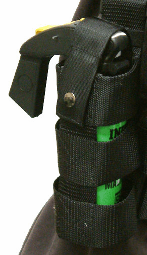 MK-9 GAS CANNISTER THIGH RIG