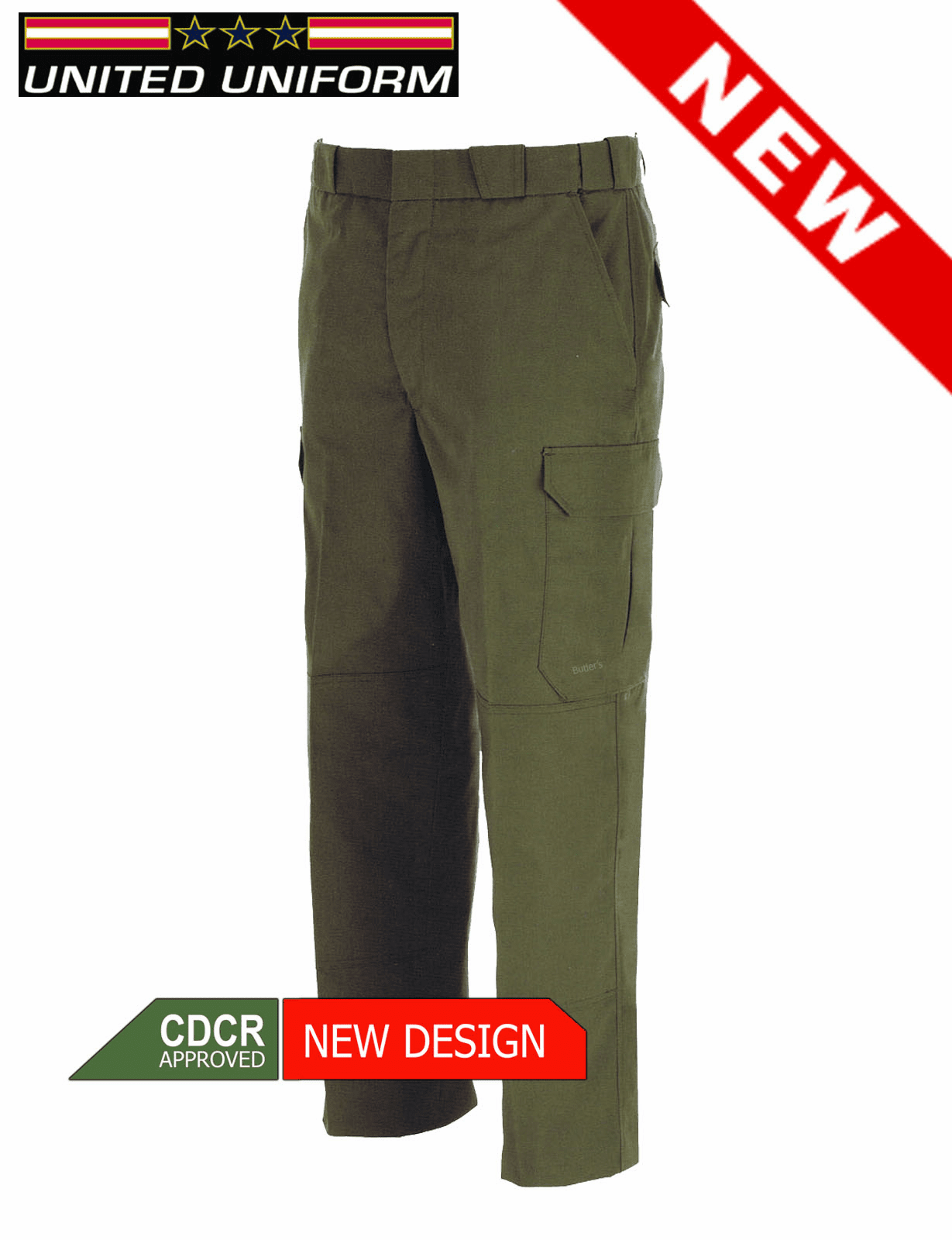 NEW CDCR  Mini Rip-Stop Cargo Pants