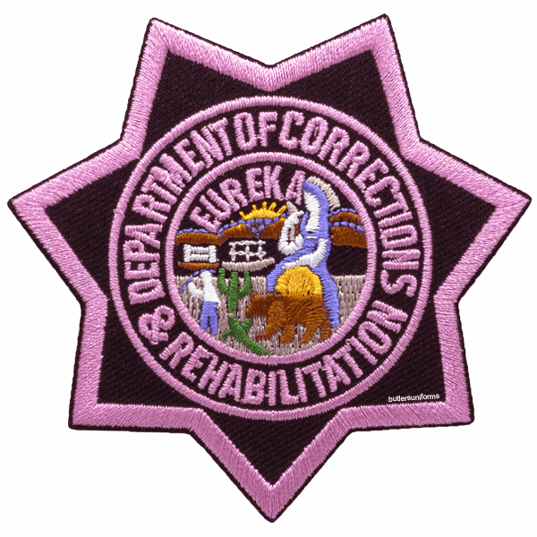 Pink - CDCR Star Patch