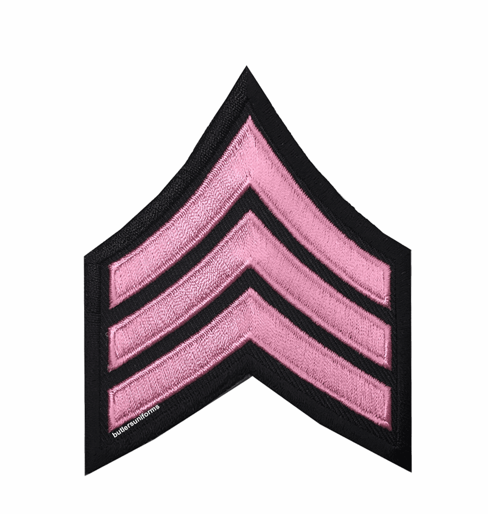 Pink - Sgt Chevrons