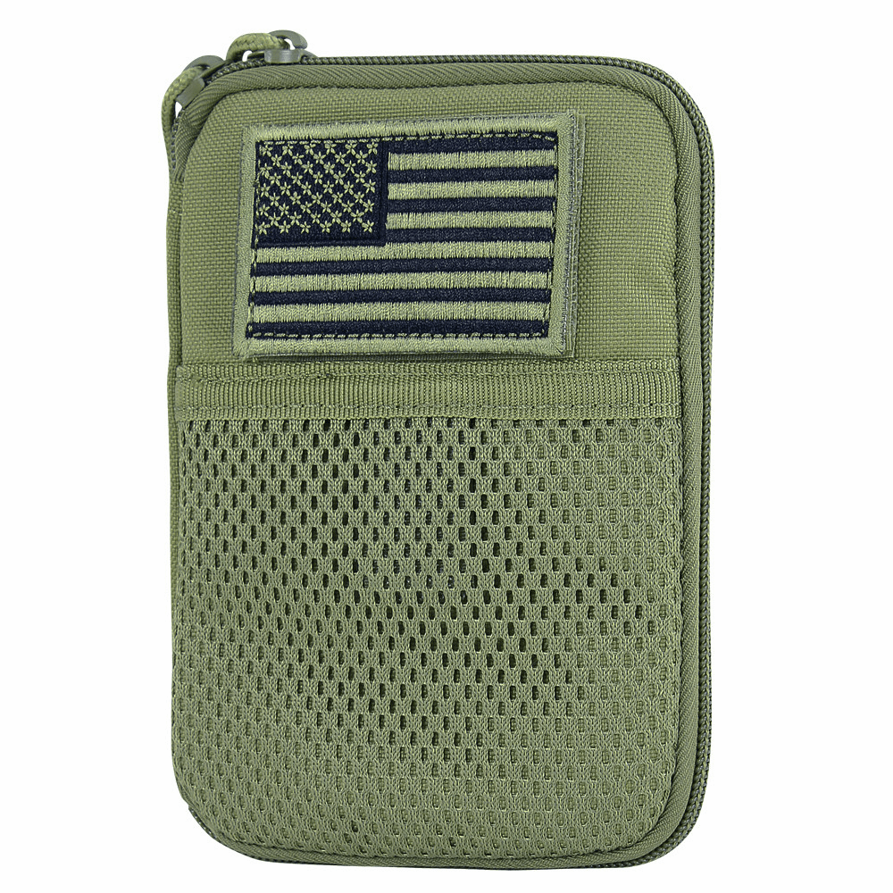Pocket Pouch w/ Flag - OD Green
