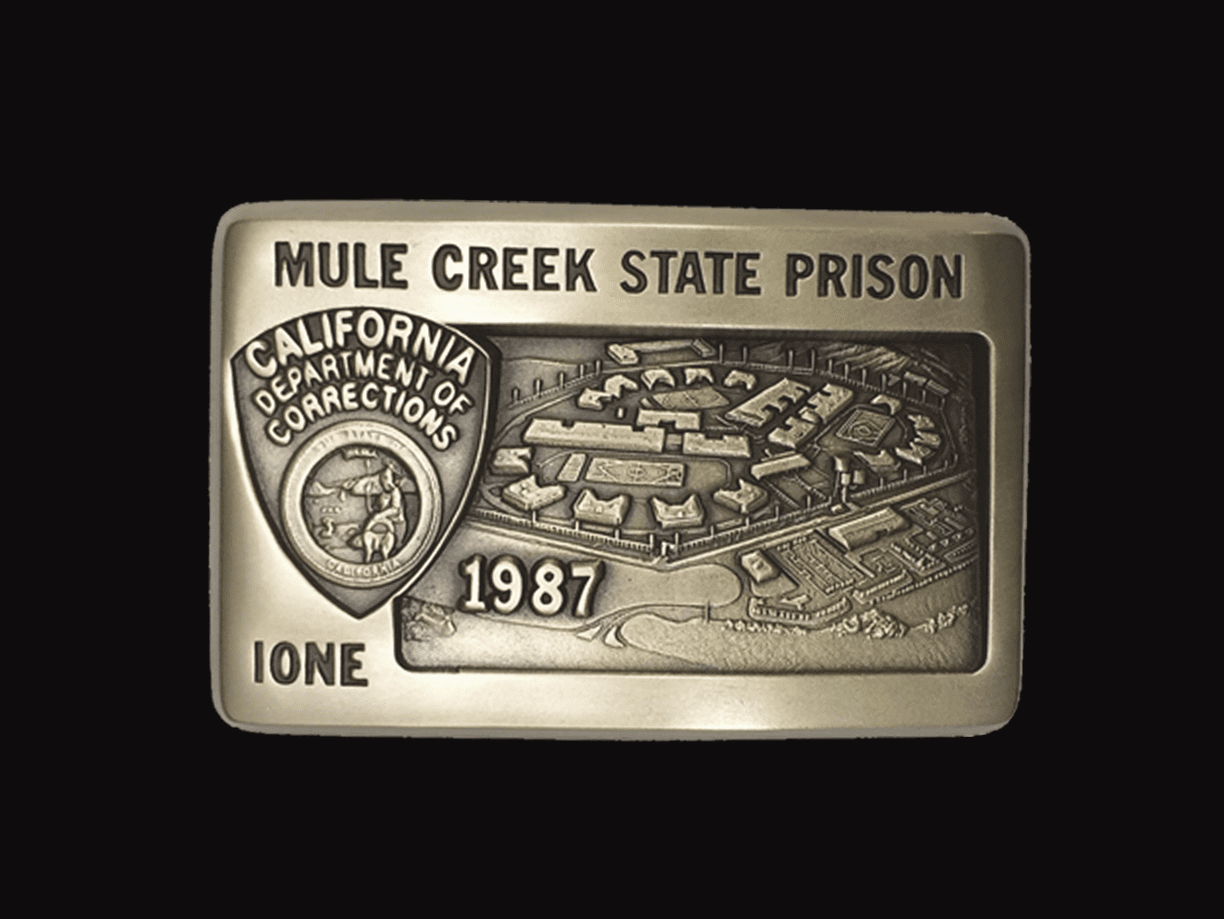 Prison Buckle - Mule Creek