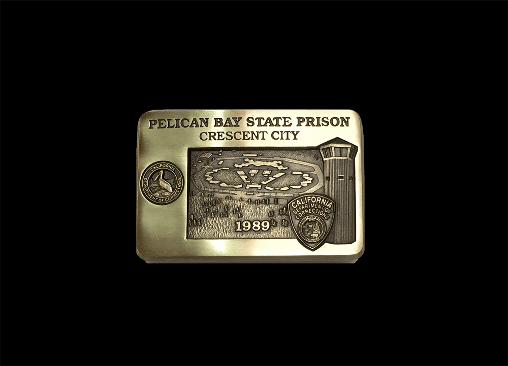 Prison Buckle - Pelican Bay