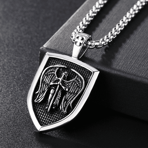 Saint Michael Shield - Necklace 01