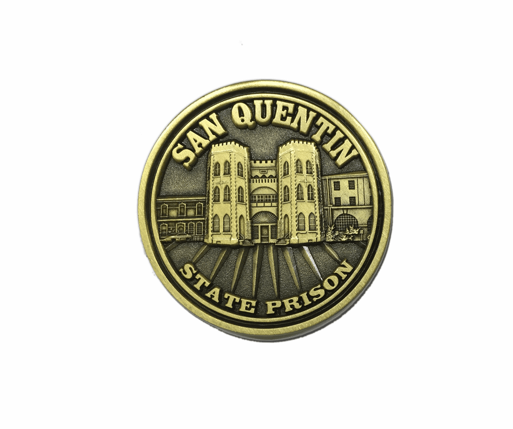 San Quentin - Challenge Coin