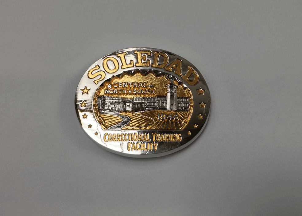 Two-Tone Soledad Belt Buckle