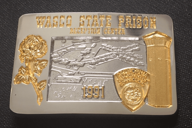 Two-Tone Wasco Belt Buckle