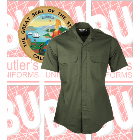 United - Green Line-Duty Short Sleeves Shirt
