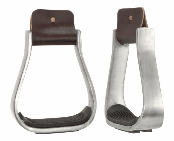 "3"" Aluminum Stirrups with Rubber Pad - 57-1050-0-0"