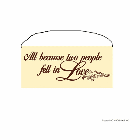 All Because Two People Fell In Love - Small