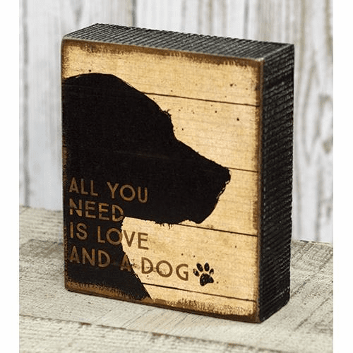 And a Dog Box Sign